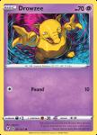 Pokemon Evolving Skies card 061/203 Drowzee