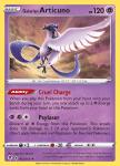Pokemon Evolving Skies card 063/203 Galarian Articuno