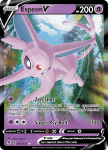 Pokemon Evolving Skies card 064/203 Espeon V