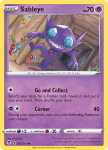 Pokemon Evolving Skies card 067/203 Sableye