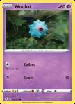 Pokemon Evolving Skies card 068/203 Woobat