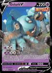 Pokemon Evolving Skies card 070/203 Golurk V