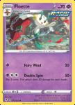 Pokemon Evolving Skies card 072/203 Floette