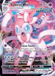 Pokemon Evolving Skies card 075/203 Sylveon VMAX