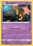 Pokemon Evolving Skies card 077/203 Gourgeist