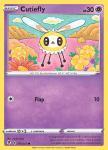 Pokemon Evolving Skies card 078/203 Cutiefly