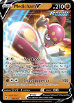 Pokemon Evolving Skies card 083/203 Medicham V