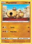 Pokemon Evolving Skies card 084/203 Hippopotas