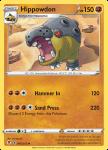 Pokemon Evolving Skies card 085/203 Hippowdon