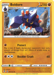 Pokemon Evolving Skies card 087/203 Boldore
