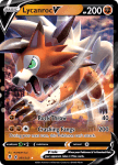 Pokemon Evolving Skies card 091/203 Lycanroc V