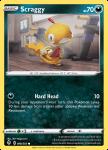 Pokemon Evolving Skies card 098/203 Scraggy