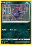 Pokemon Evolving Skies card 102/203 Zorua