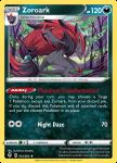 Pokemon Evolving Skies card 103/203 Zoroark