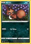 Pokemon Evolving Skies card 104/203 Nickit