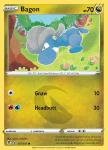 Pokemon Evolving Skies card 107/203 Bagon