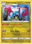 Pokemon Evolving Skies card 109/203 Salamence