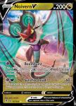 Pokemon Evolving Skies card 117/203 Noivern V