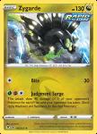 Pokemon Evolving Skies card 118/203 Zygarde