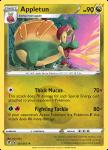 Pokemon Evolving Skies card 121/203 Appletun