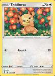 Pokemon Evolving Skies card 126/203 Teddiursa