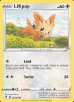 Pokemon Evolving Skies card 133/203 Lillipup