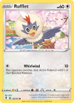 Pokemon Evolving Skies card 136/203 Rufflet