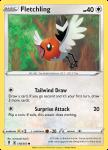 Pokemon Evolving Skies card 138/203 Fletchling