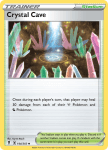 Pokemon Evolving Skies card 144/203 Crystal Cave