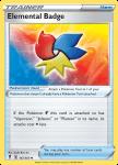 Pokemon Evolving Skies card 147/203 Elemental Badge