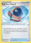 Pokemon Evolving Skies card 148/203 Full Face Guard