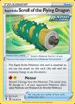 Pokemon Evolving Skies card 153/203 Rapid Strike Scroll of the Flying Dragon