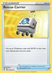 Pokemon Evolving Skies card 154/203 Rescue Carrier