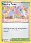 Pokemon Evolving Skies card 157/203 Shopping Center
