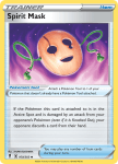 Pokemon Evolving Skies card 160/203 Spirit Mask