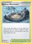 Pokemon Evolving Skies card 161/203 Stormy Mountains