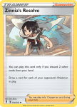 Pokemon Evolving Skies card 164/203 Zinnia's Resolve