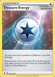 Pokemon Evolving Skies card 165/203 Treasure Energy