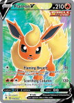 Pokemon Evolving Skies card 169/203 Flareon V