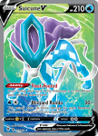Pokemon Evolving Skies card 173/203 Suicune V