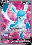 Pokemon Evolving Skies card 174/203 Glaceon V