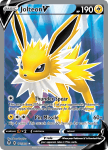 Pokemon Evolving Skies card 177/203 Jolteon V