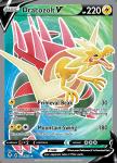 Pokemon Evolving Skies card 178/203 Dracozolt V