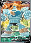 Pokemon Evolving Skies card 181/203 Golurk V
