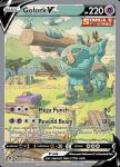 Pokemon Evolving Skies card 182/203 Golurk V