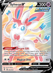 Pokemon Evolving Skies card 183/203 Sylveon V