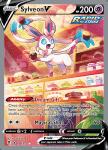 Pokemon Evolving Skies card 184/203 Sylveon V