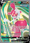 Pokemon Evolving Skies card 185/203 Medicham V