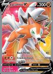 Pokemon Evolving Skies card 187/203 Lycanroc V