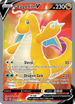 Pokemon Evolving Skies card 191/203 Dragonite V